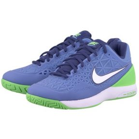 Nike – Nike Zoom Cage 2 705260413-3 – ΣΙΕΛ/ΛΑΧΑΝΙ