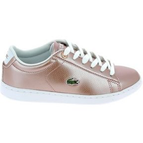 Xαμηλά Sneakers Lacoste Carnaby Evo C Rose Blanc [COMPOSITION_COMPLETE]