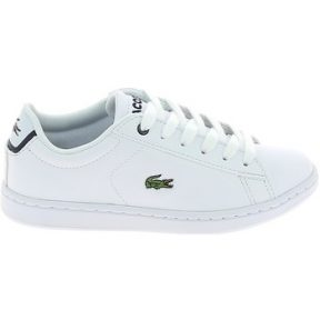 Xαμηλά Sneakers Lacoste Carnaby Evo BL C Blanc Marine [COMPOSITION_COMPLETE]