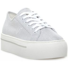 Xαμηλά Sneakers Windsor Smith RUBY CANVAS METALLIC TREAD SILVER