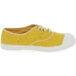 Xαμηλά Sneakers Bensimon Toile Lacet Broderie Safran [COMPOSITION_COMPLETE]