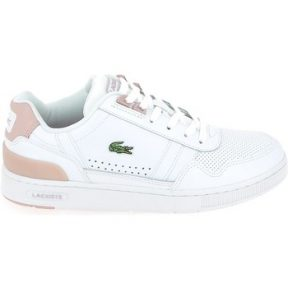 Xαμηλά Sneakers Lacoste T Clip Blanc Rose