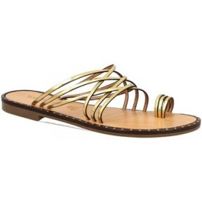 Mules Leonardo Shoes SIENA ORO