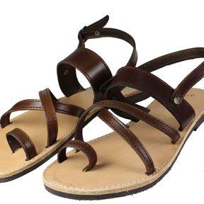 Handmade Sandals 139 Καφέ